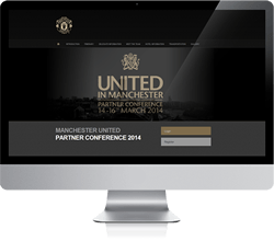Manchester United Partner Conference Website